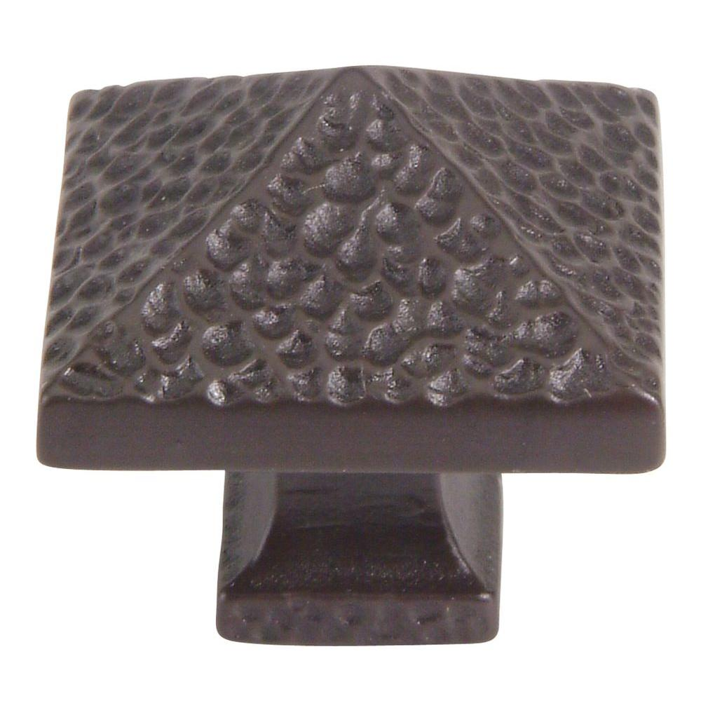 Atlas Homewares Craftsman Collection 1 1/4 In. Oil Rubbed Bronze Cabinet  Knob