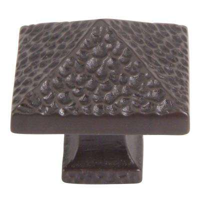 Craftsman Collection 1-1/4 in. Oil Rubbed Bronze Cabinet Knob