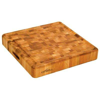 Thick Slab 18 in. Hardwood Cutting Board