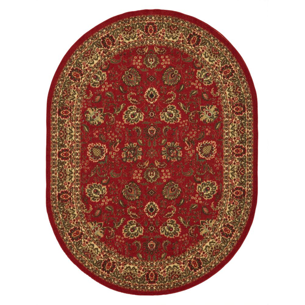 Ottomanson Ottohome Collection Traditional Floral Design