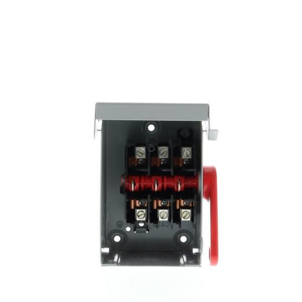 Siemens DTNF321 30-Amp 3 Pole 240-volt 3 Wire Non-Fused Double Throw Safety Switches