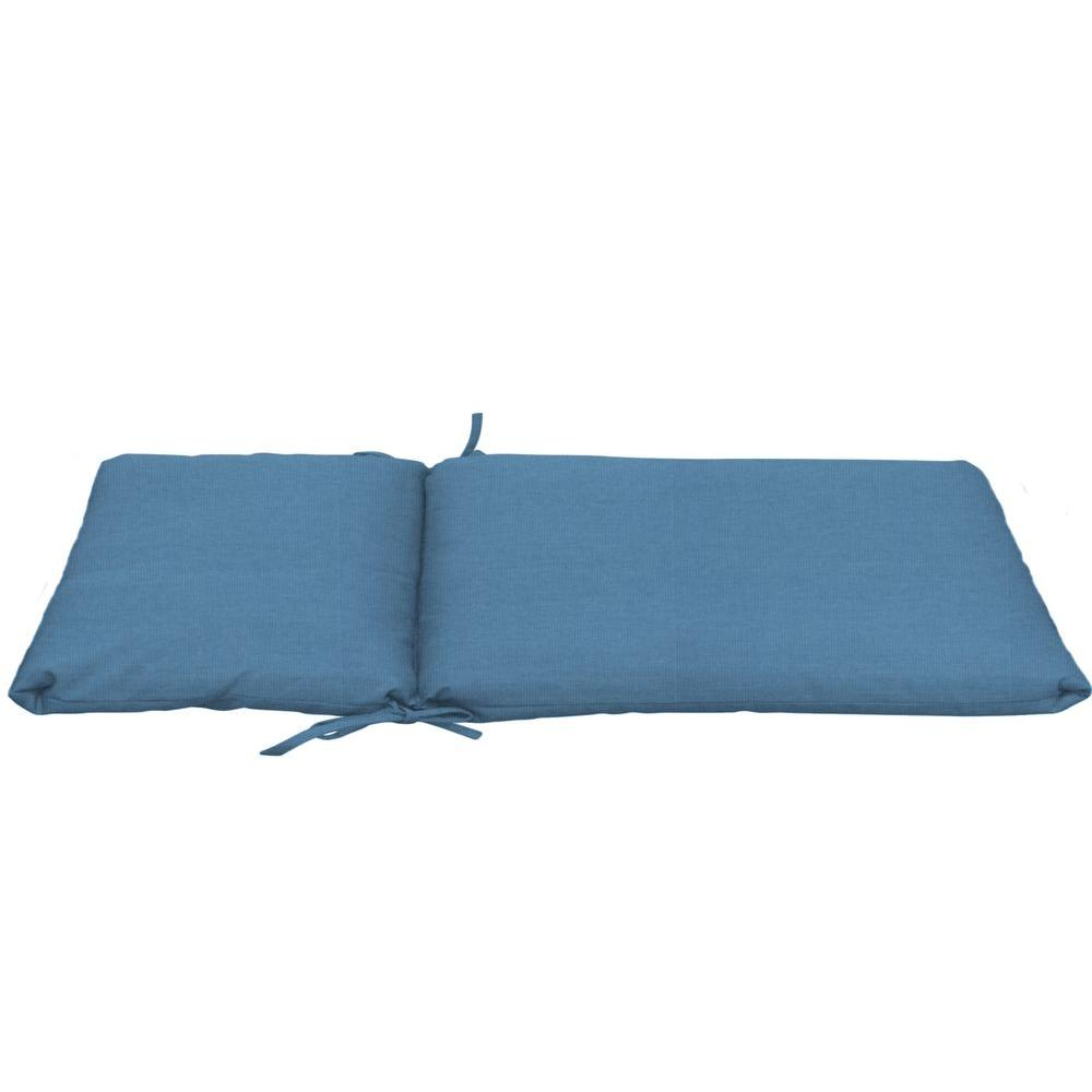 Sunbrella Denim Longer Length Outdoor Chaise Cushion
