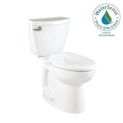 Cadet 3 Powerwash Compact Tall Height 2-piece 1.28 GPF Elongated Toilet in White