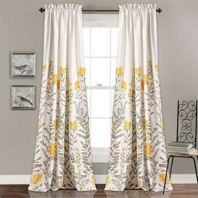 Curtains And Drapes Yellow