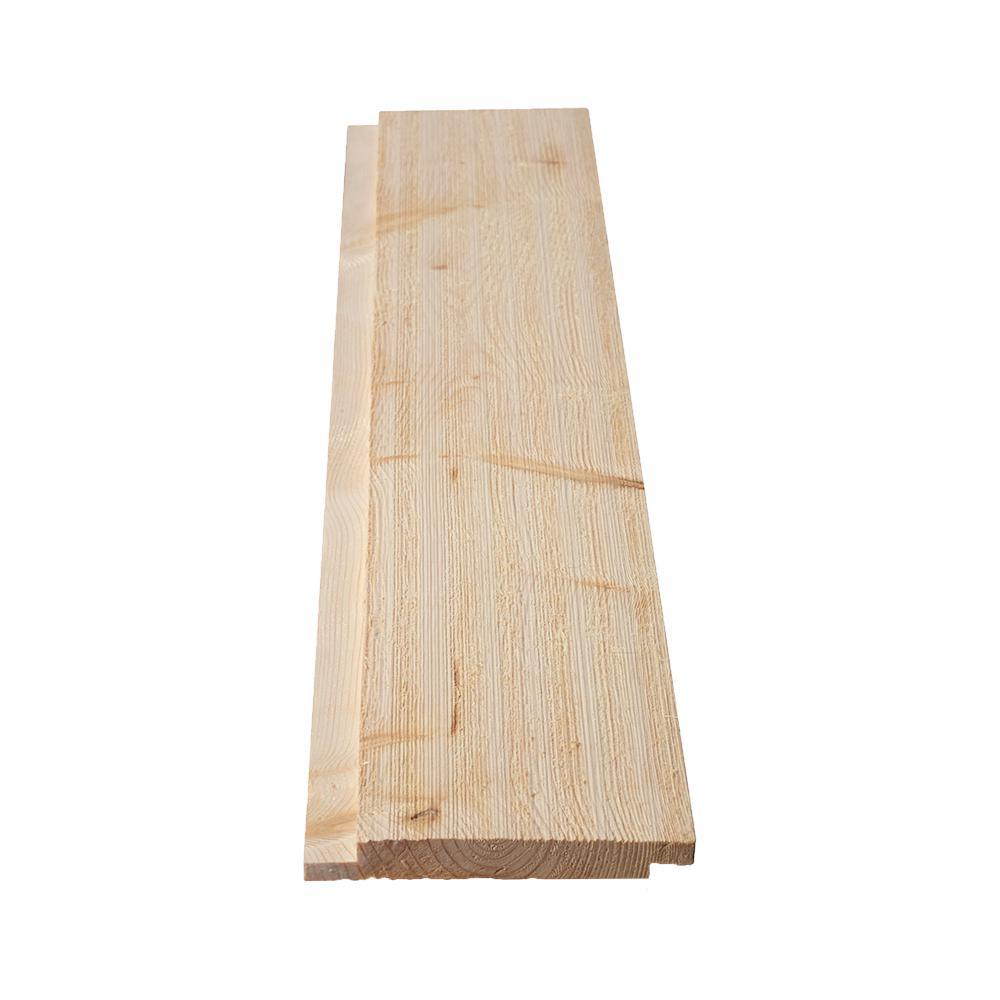 1 in. x 6 in. x 8 ft. Barn Wood Shiplap Pine Board