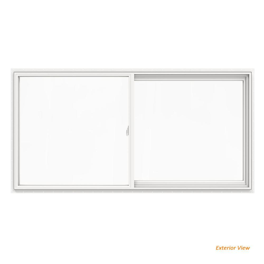 Jeld Wen 71 5 In X 36 5 In V 2500 Series White Vinyl Left Handed