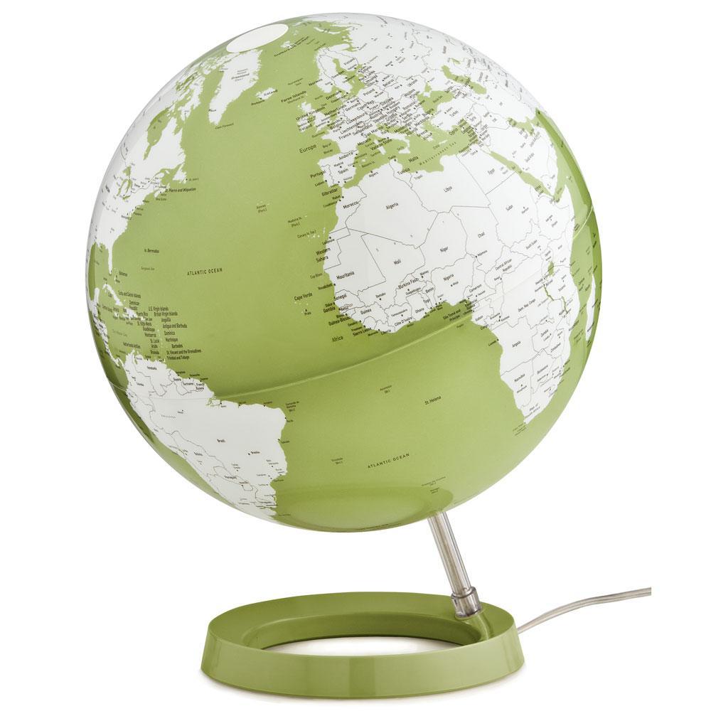 Light and Color 12 in. Green Designer Series Desktop Globe