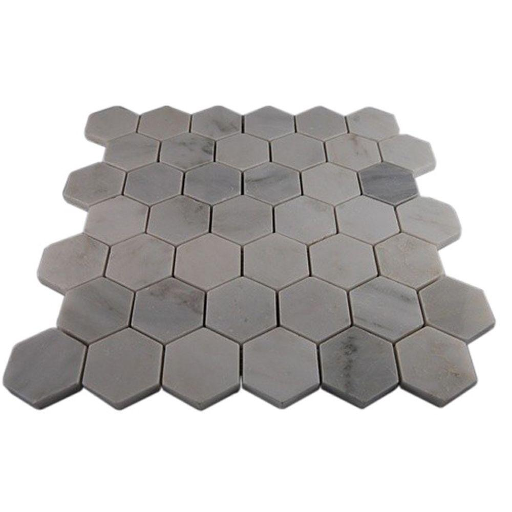 Hexagon - Marble Tile - Natural Stone Tile - The Home Depot