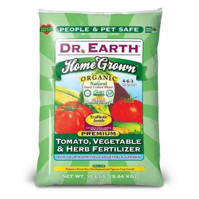 12 lb. 180 sq. ft. Home Grown Tomato, Vegetable and Herb Dry Fertilizer