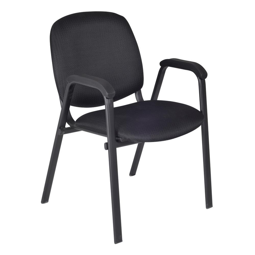 Regency Caid Black Stack Chair Set Midnight Black 9020