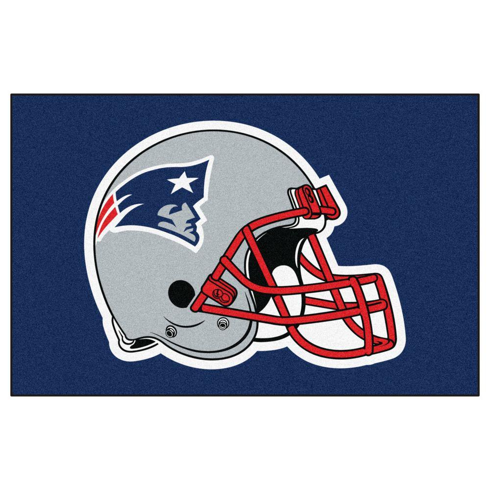 Fanmats New England Patriots 2 Ft X 3 Ft Area Rug 5800 The Home Depot