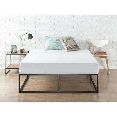 Joseph 14 Inch Steel Platform Bed Frame, Queen