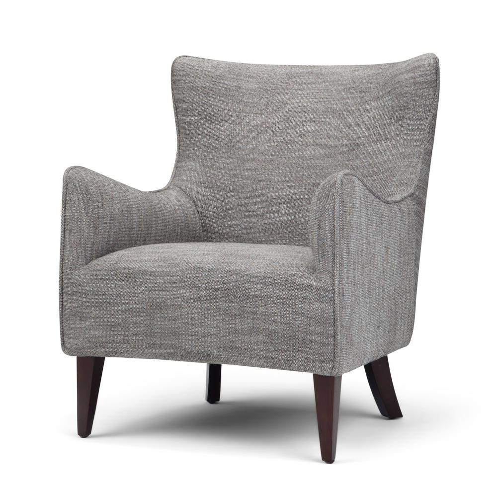 33 By 28 Accent Chair: Simpli Home Libby 28 In. Wide Contemporary Modern Winged