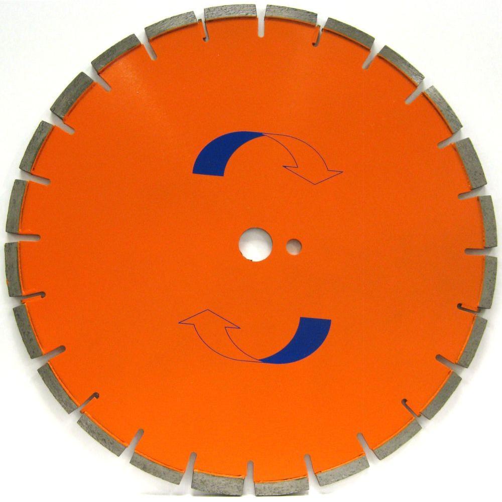 18 in. x .165 in. Cured Concrete Diamond Blade, Medium Bond