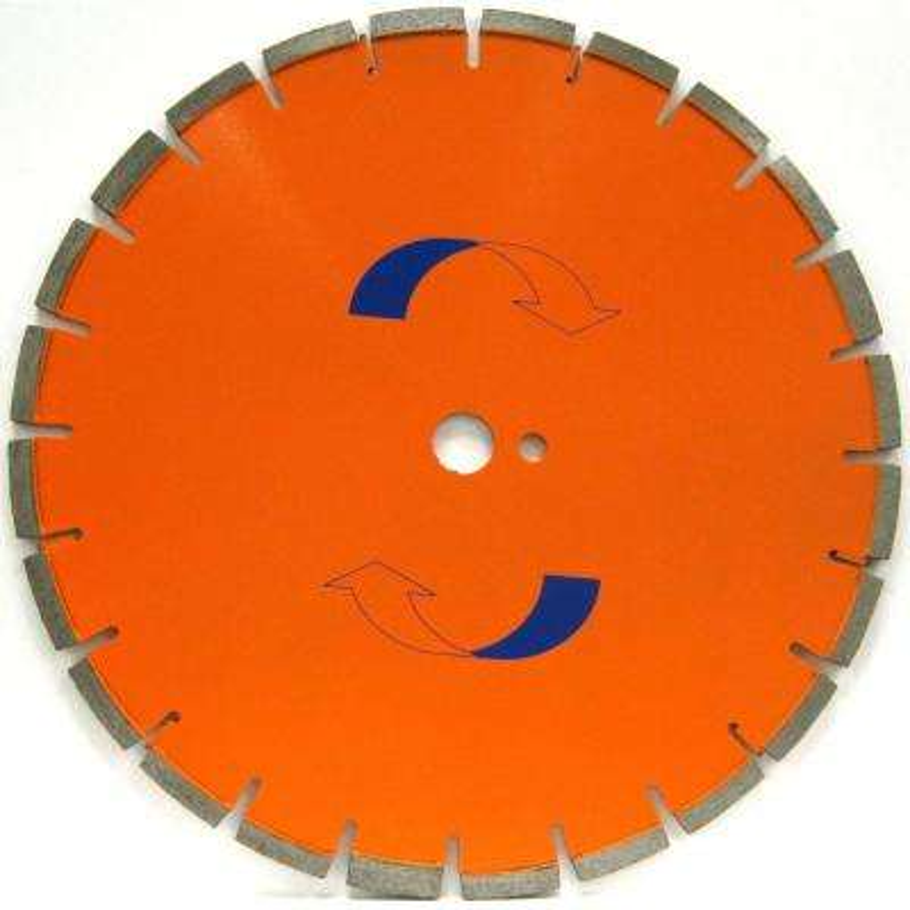 20 in. x .165 in. Cured Concrete Diamond Blade, Medium Bond