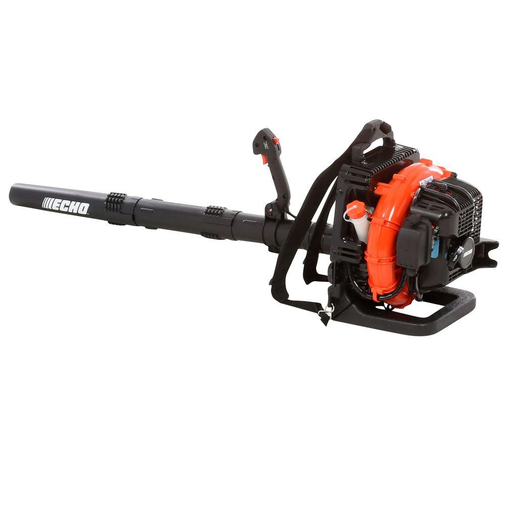 High Powered Blower : Echo mph cfm gas leaf blower pb t the home depot