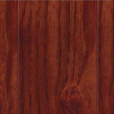 High Gloss Teak Cherry 1/2 in. T x 3-1/2 in. W x Varying Length Engineered Hardwood Flooring (20.71 sq. ft. / case)