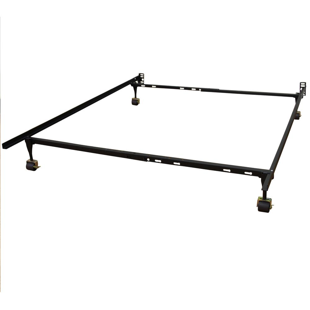 Hercules Standard Adjustable Bed Frame with 4 Legs and Locking Rug