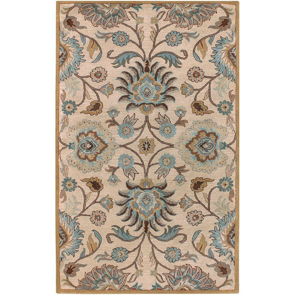 Home Decorators Collection Amanda Ivory 3 Ft X 8 Area Rug