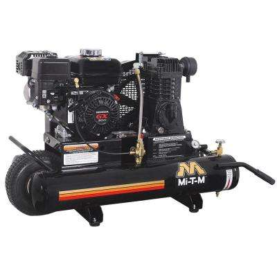 8 Gal. 6.5 HP Honda Portable Wheel Barrow Air Compressor