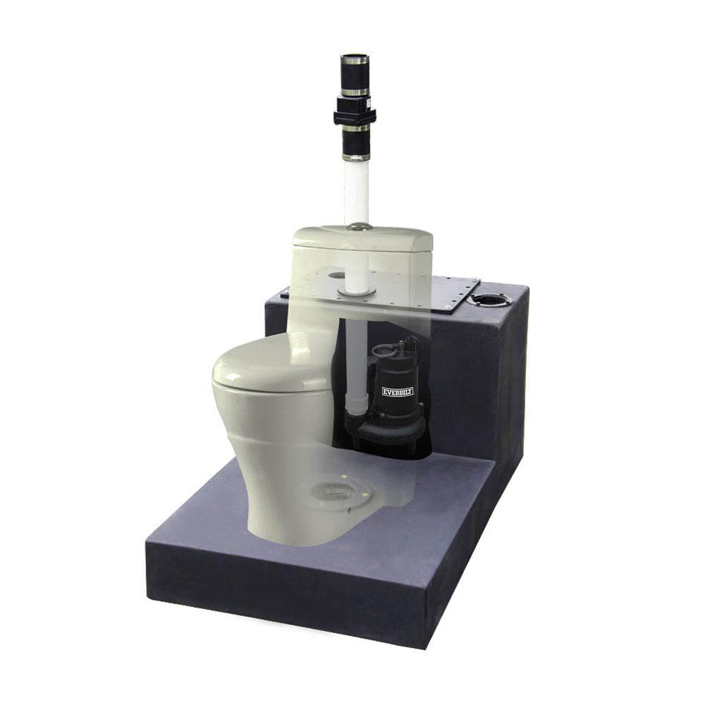 1/2 HP Upflush System Sewage Pump Kit