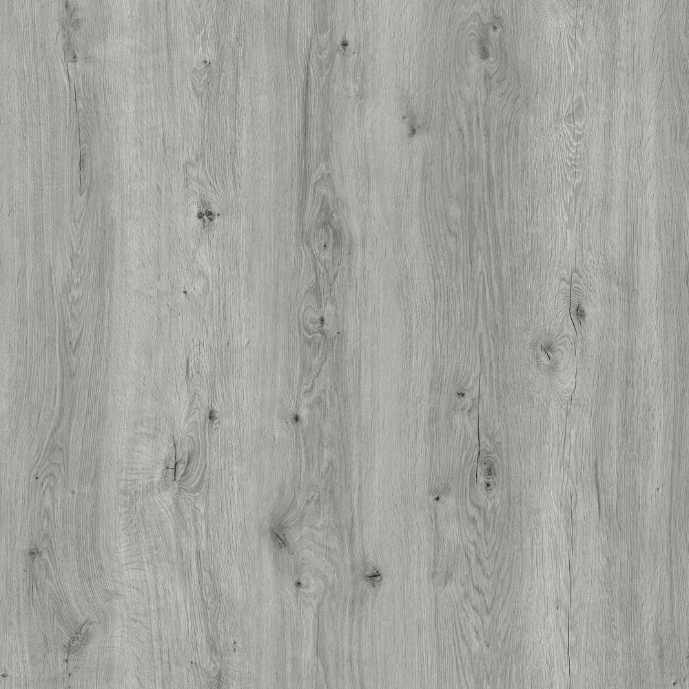 Botanicals Limed Oak Light Grey 7.1 in. W x 48 in. L Luxury Click-Lock Vinyl Plank Flooring (28.42 sq. ft./case)