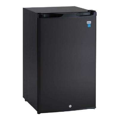 4.4 cu. ft. Mini Refrigerator in Black