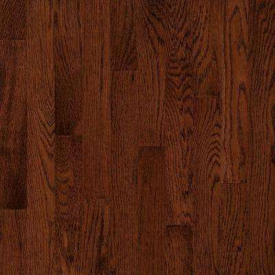 Take Home Sample - American Originals Deep Russet Oak Engineered Click Lock Hardwood Flooring - 5 in. x 7 in.