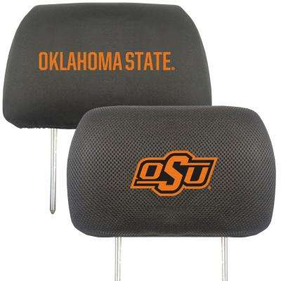 NCAA Oklahoma State University Embroidered Head Rest Covers (2-Pack)