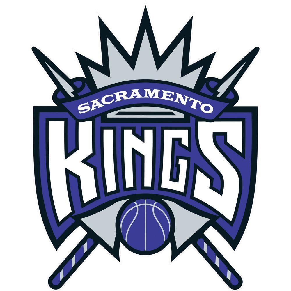Fathead 37 in. x 47 in. Sacramento Kings Logo Wall Decal