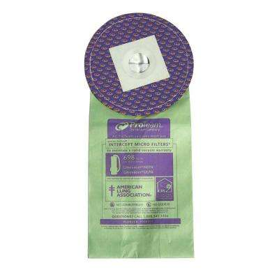 10 qt. Intercept Micro Filter for ProTeam LineVacer HEPA Vac (10-Pack)