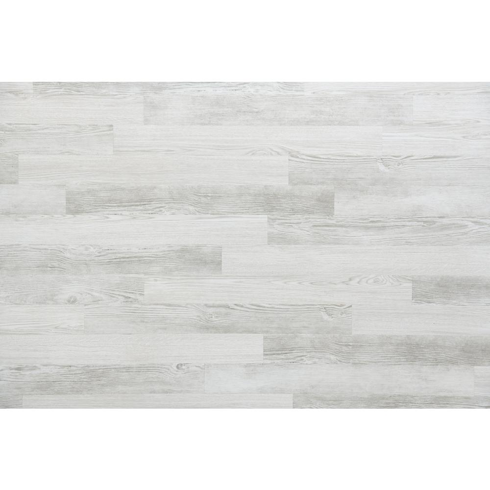 E Z Wall White Wash 4 In X 3 Ft Peel And Press Vinyl Plank Wall