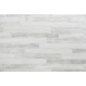 E Z Wall White Wash 4 In X 3 Ft L And Press Vinyl Plank