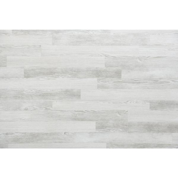 E Z Wall White Wash 4 In X 3 Ft Peel And Press Vinyl Plank Wall Decor 20 Sq Ft Case 17905 The Home Depot