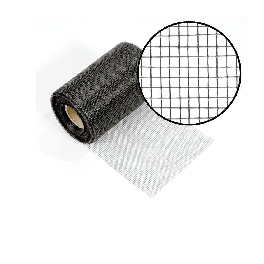 Phifer 6 in. x 100 ft. Charcoal Fiberglass Vent Mesh-3003174 - The ...