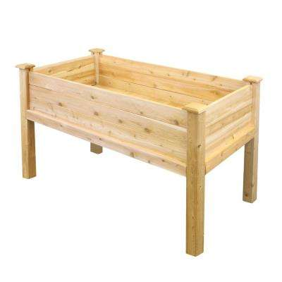 48 in. L x 24 in. W x 31 in. H Elevated Garden Bed