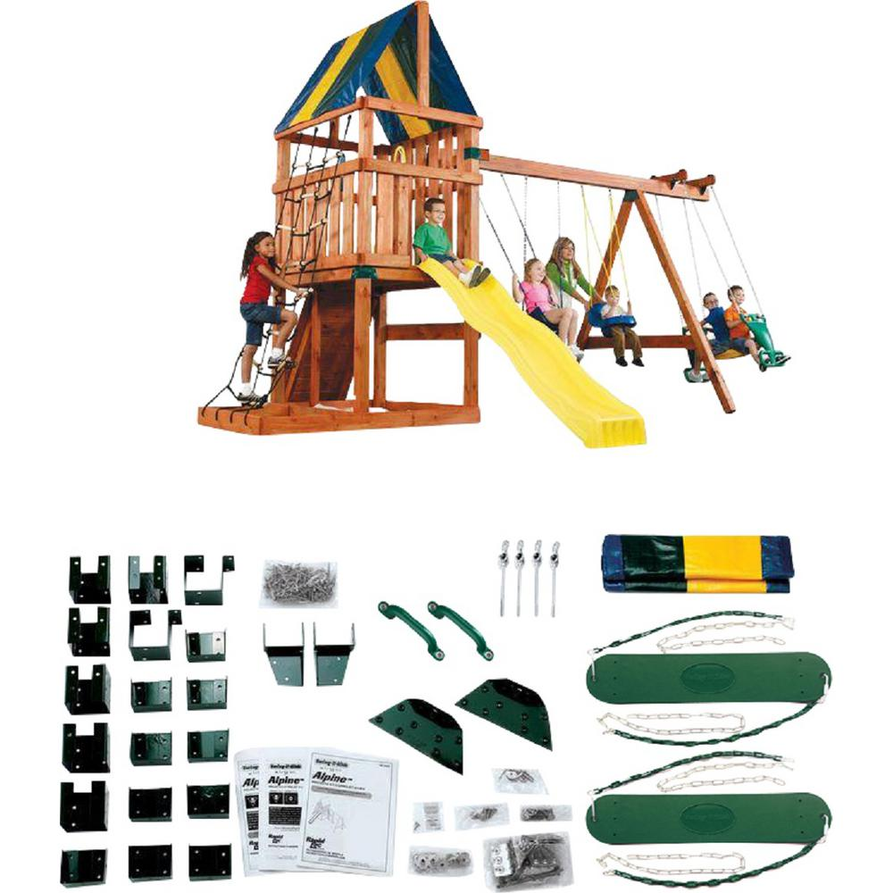 Swing-N-Slide Playsets Do-It-Yourself Alpine Custom Playset