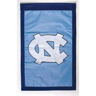 NCAA 28 in. x 44 in. North Carolina 2-Sided Flag