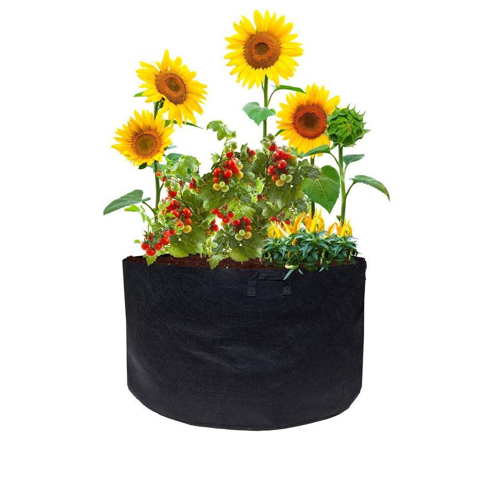 7-Pack 30 Gallon Grow Bags Large Nonwoven Planting Pots Gardening Pots w//Handles
