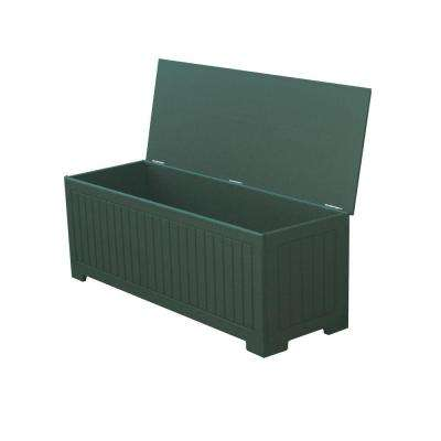 Sydney 36.75 Gal. Green Recycled Plastic Commercial Grade Deck Box