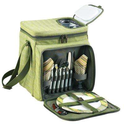Picnic Basket and Cooler Equipped for 2 in Hamptons