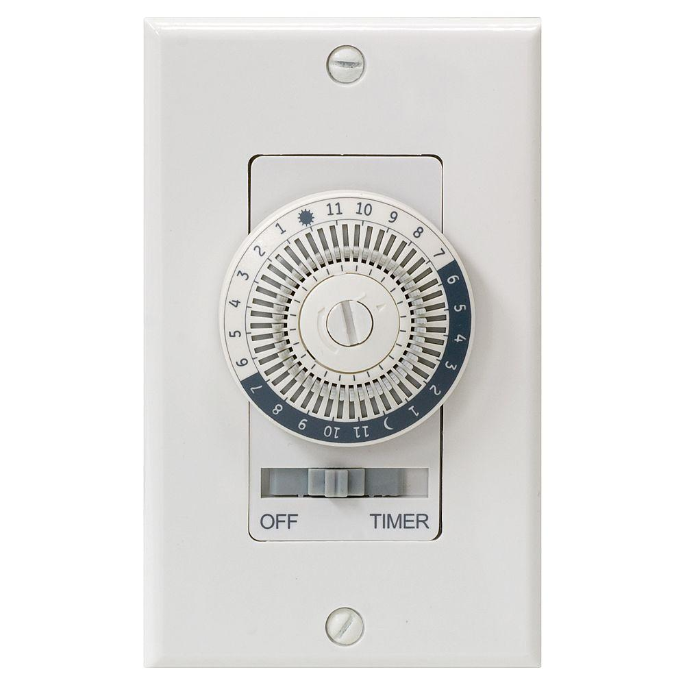 GE 24-Hour In-Wall Basic Timer-15070