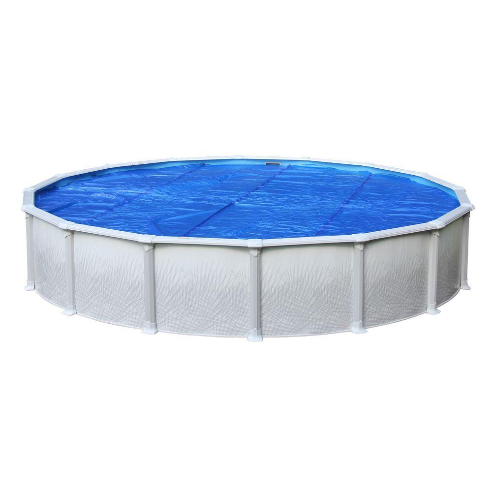 Heritage 12 Ft Round Blue Above Ground Solar Cover Scv 12