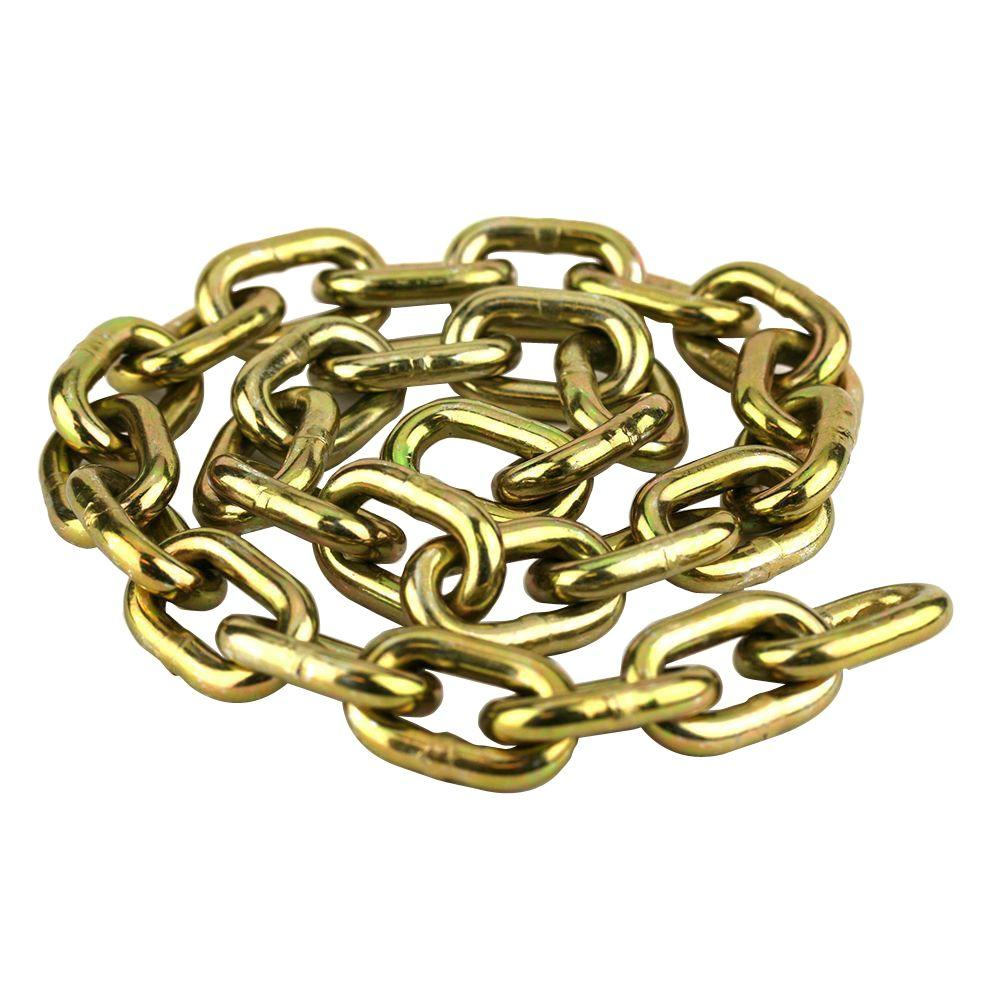 Everbilt 3/8 in. x 3 ft. Anti-Theft Security Chain-810602 - The ...