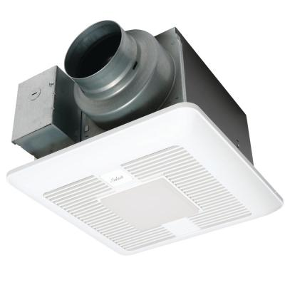 Panasonic Whisper Green Select 50 80 110 Cfm Ceiling Exhaust Bath Fan With Led Light Energy Star Fv 05 11vkl1 The Home Depot
