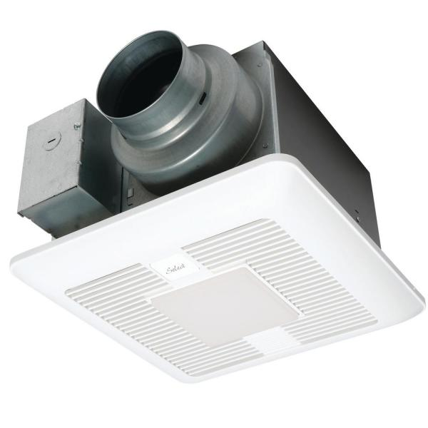 WhisperGreen Select Pick-A-Flow 50/80 or 110 CFM Exhaust Fan LED Light Flex-Z Fast bracket 4 or 6 in. duct adapter