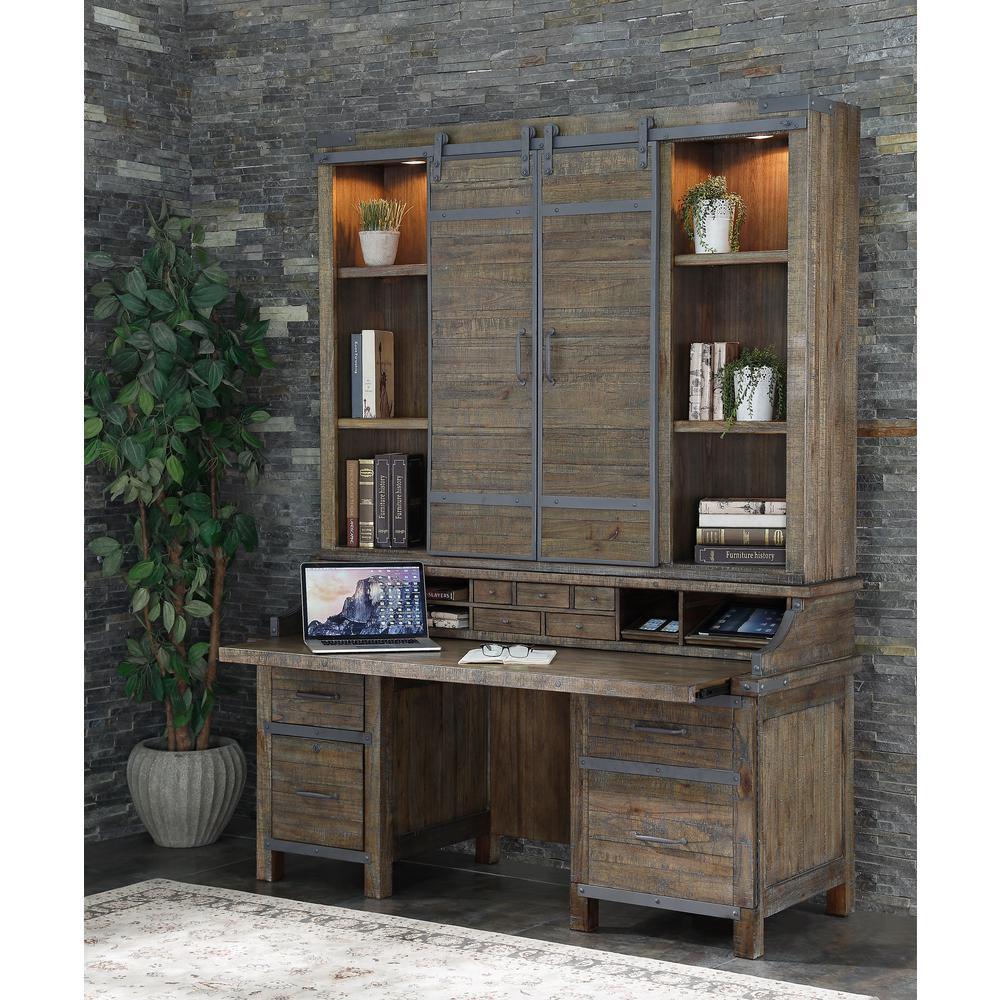 Artisan Revival Quenby Smart Top Credenza Desk