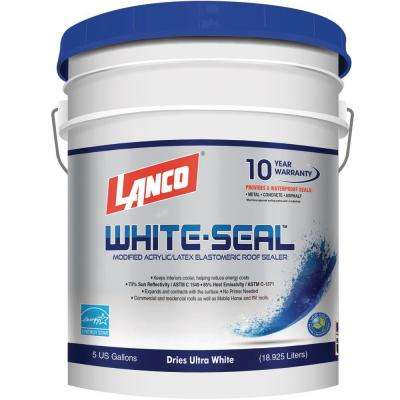 5 Gal. White Seal Elastomeric Roof Coating