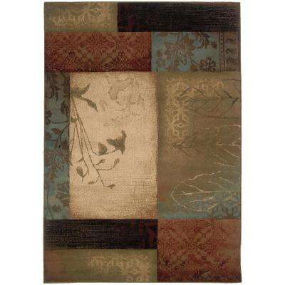 Hillsborough Multi 4 ft. x 5 ft. Area Rug