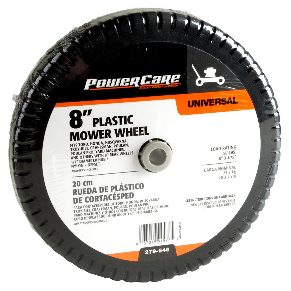 X 1 75 In Universal Plastic Wheel